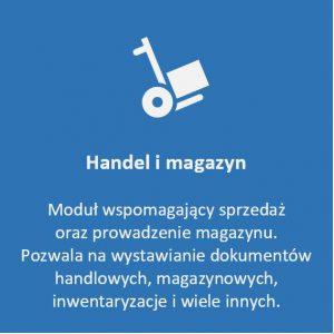 moduł handel i magazyn