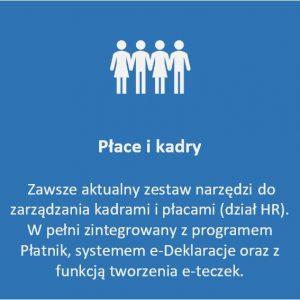 Moduł Płace i kadry - zestaw narzędzi do zarządzania kadrami i płacami (HR)